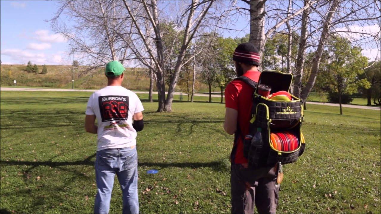 Disc Golf Manitoba Fall Classic 2015 - YouTube