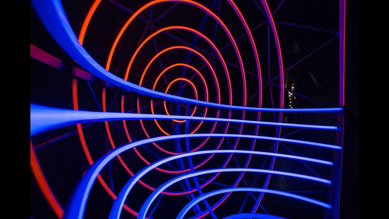 Helios - darc night light installation by dpa, LED Linear   ... for Led Light Installation Art  300lyp