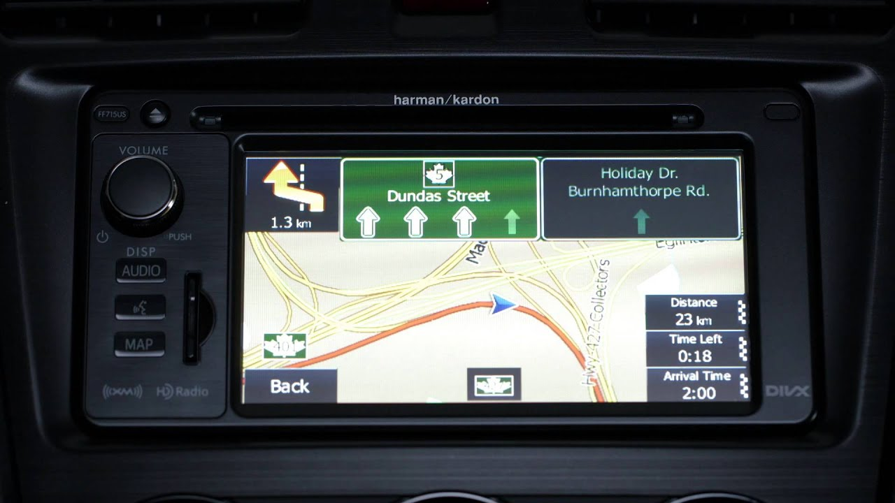 Subaru How To Guide For The Gps Navigation Of The