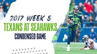 2017 Week 8: Texans at Seahawks | Condensed Game
