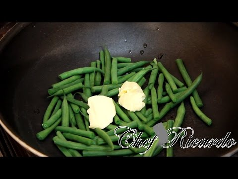 Simple Pan Seared Eco-friendly Beans