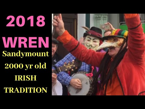 2018 WREN BOYS In Sandymount: Ancient Irish Tradition.