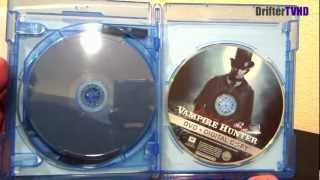 abraham lincoln vampire hunter 3d blu ray 1 minute unboxings on driftertvhd