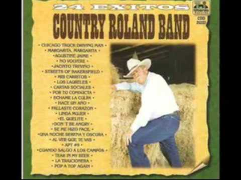Country Roland Band Streets of Bakersfield