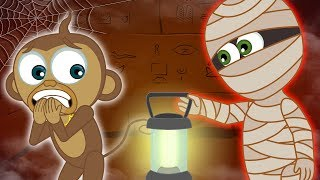 The Mummy's Adventure | Spooky Animated Cartoons for Children | Annie & Ben