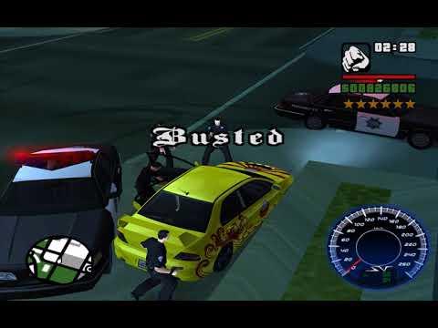 GTA SA Busted 2