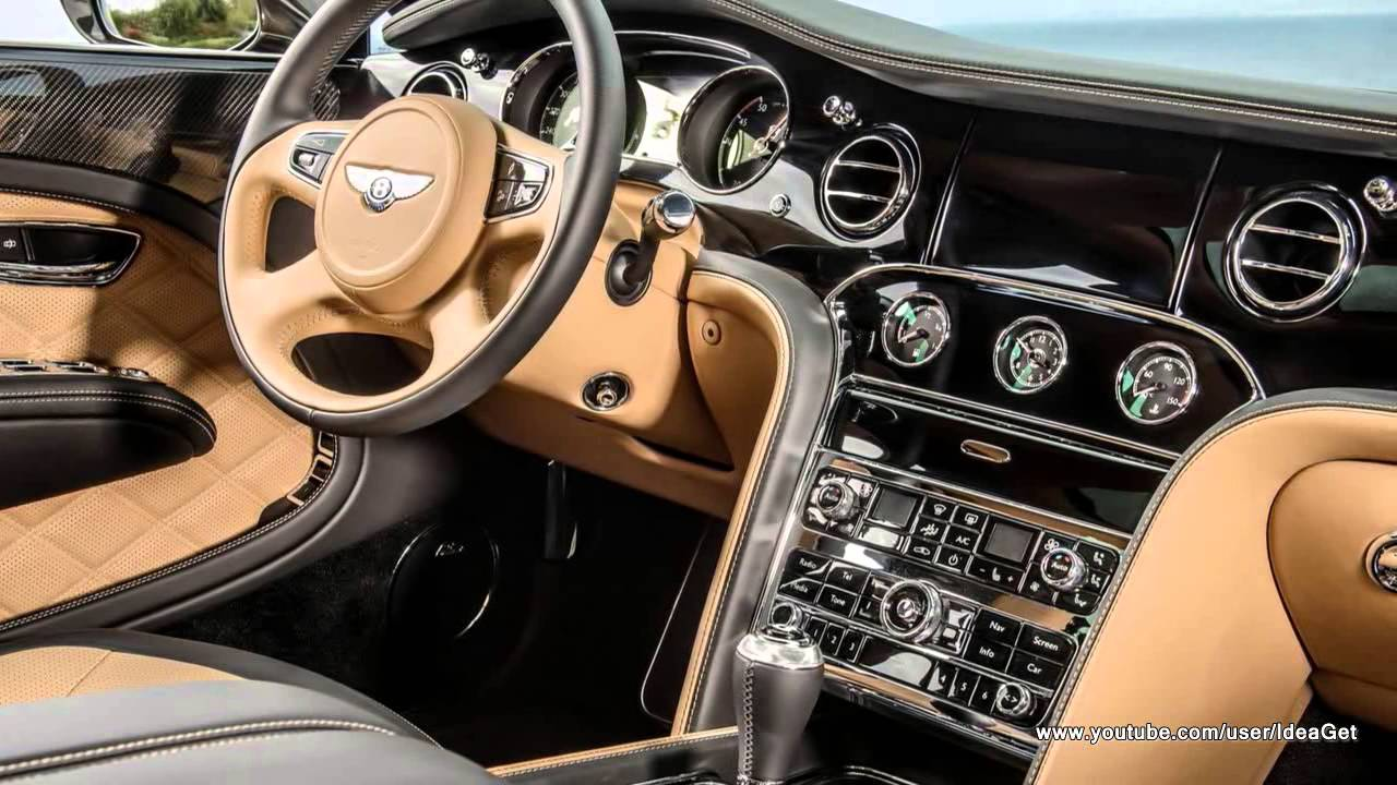 Interiors new bentley mulsanne speed 2015 youtube for Interior news