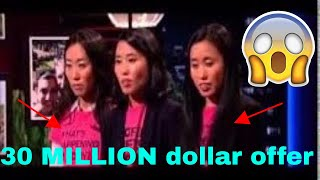 Shark tank Largest deal biggest in history (30 million) 2017