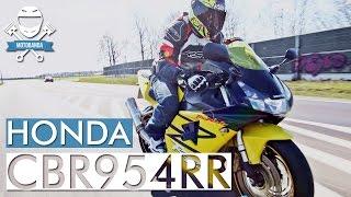 Honda popuściła cugli? Najlżejszy Blady w historii - Honda CBR 954 Fireblade RR