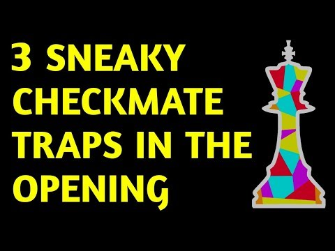 Siberian Trap: Chess Opening TRICK to Win Fast & PUZZLE Best Checkmate Moves,Game Strategy & Ideas