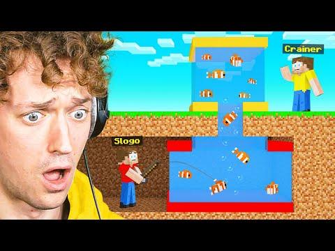 SLOGO STOLE My PET FISH In Minecraft! (Bee Town)