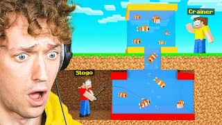SLOGO STOLE My PET FISH In Minecraft! (Bee Town)