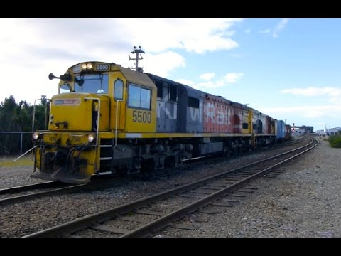 New Zealand: Christchurch - Intermodal Freight, 26Jul15