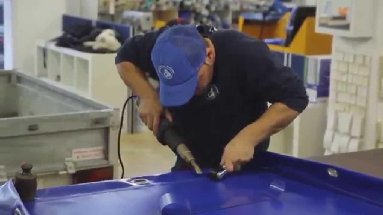 Steinel Tarpaulin Welding Heat Gun Repair Kit  YouTube
