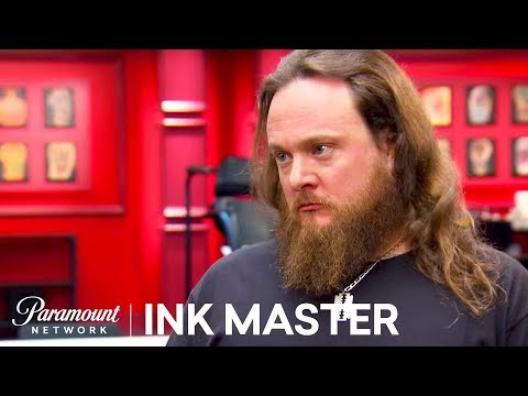 Gentle Jay Is Not-So-Gentle With Canvas - Ink Master: Redemption, Season 2 - 동영상