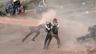 Ankara'da biber gazlı müdahale - BBC TÜRKÇE