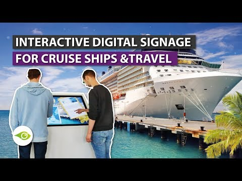 Touch Screen Solution: Interactive Infotainment for Cruise Ships, Hotels, Travel ✈