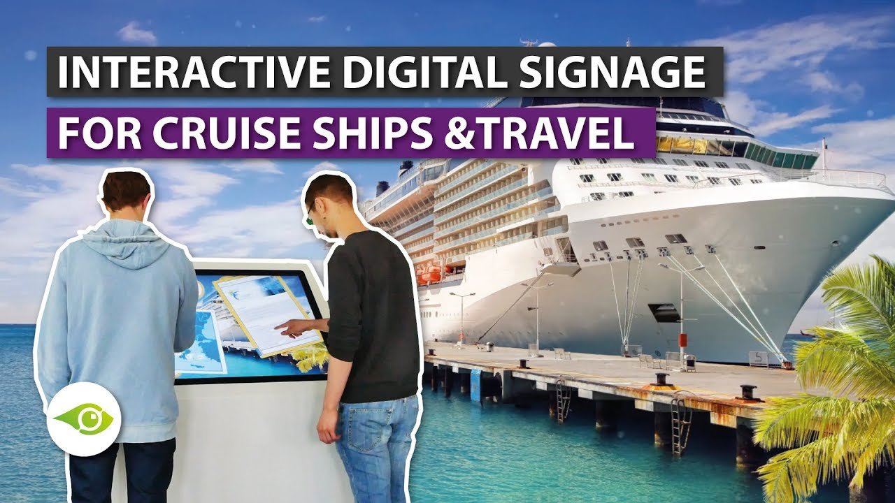 touch screen solution interactive infotainment for cruise ships