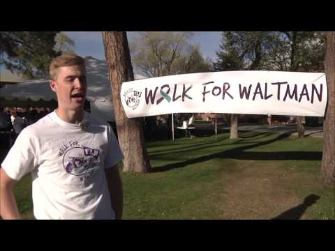 NAU Students Gathered for a Suicide Prevention Walk