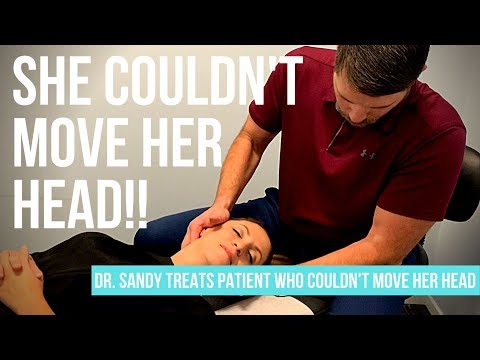 East Sacramento Chiropractor Successfully Treats Patient Who **COULDN'T MOVE HER HEAD**