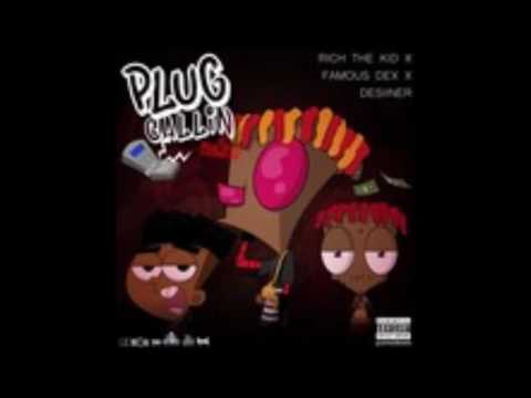 Rich The Kid - Plug Callin (Remix) (Feat. Desiigner & Famous Dex) SLOWED DOWN