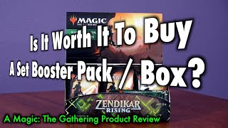 Is It Worth It To Buy A Set Booster Pack / Box? A Magic: The Gathering Product Review