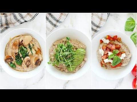 3 Healthy Oatmeal Recipes To Try | low carb paleo recipes