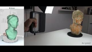 3D Systems Sense 2 - 3D Scanner - Time Lapse