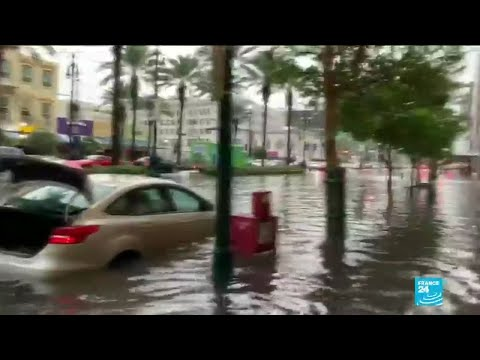 Flooded New Orleans braces for 'extreme' Storm Barry