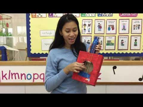 Woodland Teacher Challenge: Art & Music time at Woodland Montessori Pre-School (Repulse Bay)