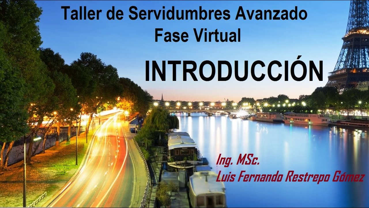 Servidumbres I Parte Introduccion Servidumbres - YouTube