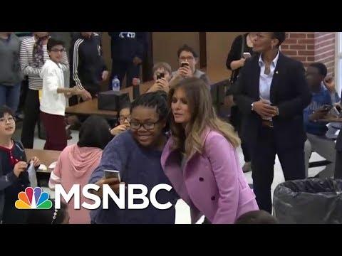 Joe: Historians Will Look Back At First Lady Melania Trump's Cause | Morning Joe | MSNBC