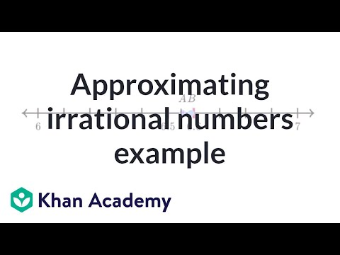 Approximating Irrational Number Exercise Example | Pre-Algebra | Khan Academy