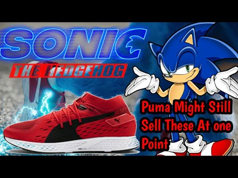 Sonic Movie 2020 What Is Paramount Puma Gonna Do With Sonic Old Shoes Youtube