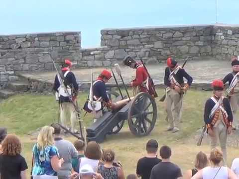 Fort Ticonderoga Artillery Demo 2016