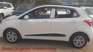 Hyundai Grand i10 Power window relay