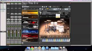 Studio Drummer and Modern Drummer Library Demonstrations