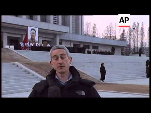 North Korea Report: Associated Press Television News report from Pyongyang