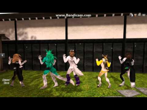Second Life Furry - What the Duck Dancer (2)