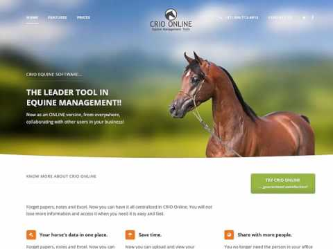 CRIO ONLINE :: Equine Management Software