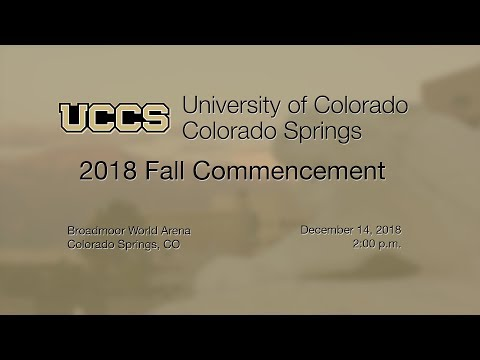UCCS Fall 2018 Commencement