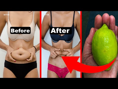 How to Lose Weight Fast With Lemon ! NO Exercise NO DIET Loose Belly Fat in Just 10 Days AT Home