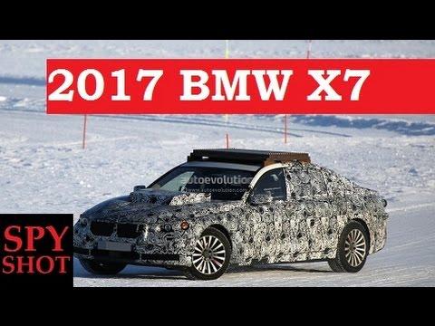 2017 BMW X7 Spy Shot !