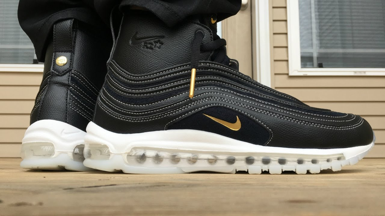 NIKE AIR MAX 97 X RICCARDO TISCI ON FOOT LOOK!!! - YouTube