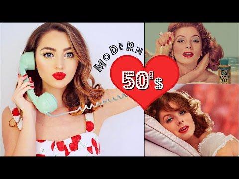 Recreating CLASSIC 50's Makeup & Hair Tutorial | Vintage Beauty