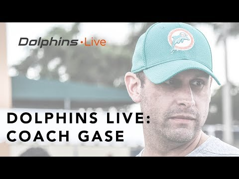 Coach Gase discusses the importance of consistency   Miami Dolphins