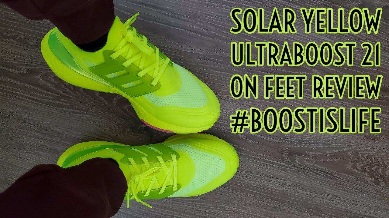 UltraBoost 1.0 'Solar Yellow'