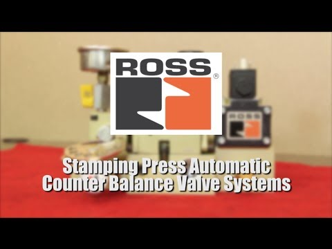Ross Controls Stamping Press Automatic Counter Balance Valve
