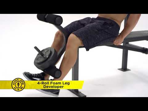Golds Gym Weight Lifting Bench Press Workout  Exercise Fitness Strength