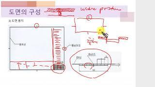 가구설계 - 기초도면 1 (대구목공직업전문학교)